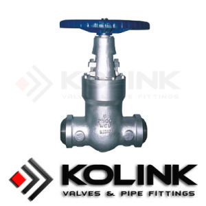 Pressure Seal Gate Valve Manual Operated Control Type