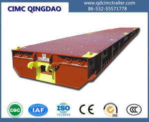 Cimc 20FT/40FT/45FT/62FT Mafi Trailer for South America Port Use Truck Chassis pictures & photos
