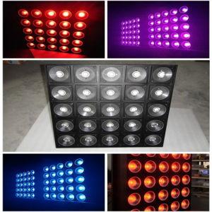 DMX 25*10W RGB Square Blinder DJ Bar LED Matrix Light