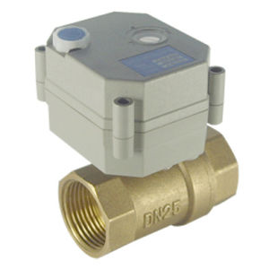 China electric flow control valve with ce t25 b2 b for Motorized flow control valve