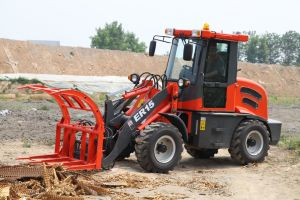 ER15 Multi-Function Wheel Loader With Wooden Forks (CE) pictures & photos