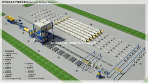 Autoclaved Aerated Concrete Production Line, AAC Production Line pictures & photos