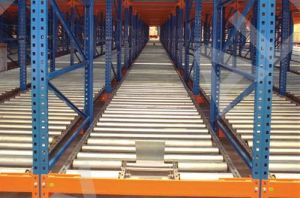 Gravity Roller Pallet Rack, Dynamic Storage Rack pictures & photos