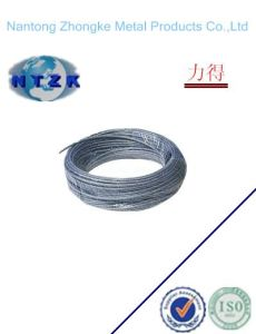 1*37 Ungalvanzied and Galvanized Steel Strand, Chinese Steel Wire Rope pictures & photos