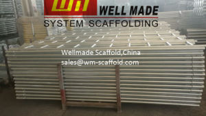 Cuplock Scaffold Components Steel Ladder with Ladder Bracket pictures & photos