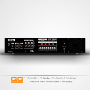 4 Zones MP3 /FM Mixer Bluetooth 480W Amplifier for Ceiling Speakers pictures & photos