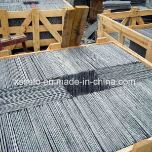 Black Irregular Shaped Slate for Wall Cladding pictures & photos