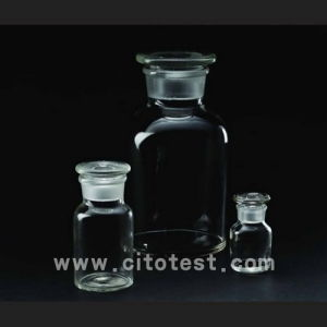 Glass Material Wide Mouth Reagent Bottles (4033-0030) pictures & photos