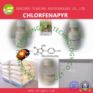 Chlorfenapyr (95%TC, 5%EC, 10%EC, 25%EC, 70%WP, 80%WP, 24%SC, 36% SC, 50% SC) pictures & photos