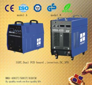 CE RoHS Approved Inverter IGBT Welding Machine (400/500/630AMP) pictures & photos