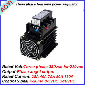 Economy Thyristor Power Regulator SCR3-25la pictures & photos