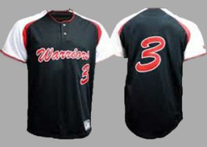 100% Polyester Sublimation Printing Ladies Blank Baseball Jersey
