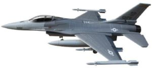 RC Plane Model F16 With 90mm Ducted Fan (ST-D27A)
