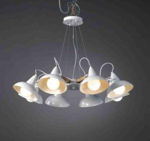 Modern White Wooden Pendant Lamp