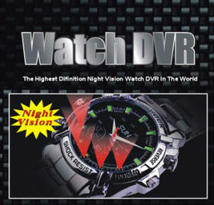 1080p Digital Watch Camera with Night Vision Waterproof (QT-IR011) pictures & photos