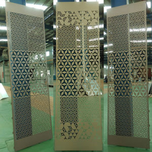 Special Curtain Wall Materials Decorative Perforated Aluminum Sheet pictures & photos