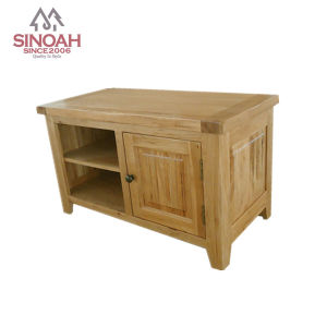 2014 Solid Oak Small TV Unit/TV Stand