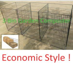 3-Bin Wire Garden Compost Bin pictures & photos