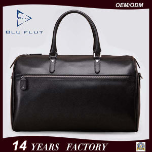 Genuine Leather Duffle Bag Factory Fashion Design Men Travel Handbags pictures & photos
