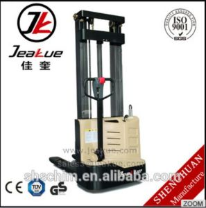 1.2 Ton Standing Full Electric Stacker Made in China Standing Stacker pictures & photos