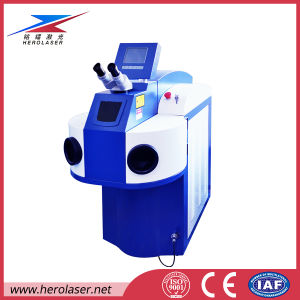 Ce Certificated Hot Sale Jewelry Laser Welder for Silver Chain Ring Bracelet Breastpin pictures & photos
