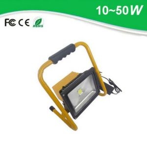 20W Outdoor Portable Stadium Rechargeable LED Floodlight