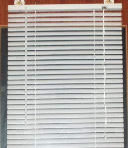 China White 50mm Pvc Venetian Blinds With Flat Slats For