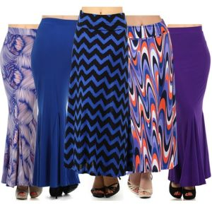 2016 OEM Hot Sale New Style Colorful Pleat Maxi Women′s Long Skirt pictures & photos
