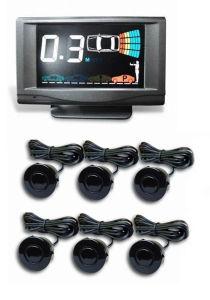Dark Grey LCD Parking Sensor (MP-218LCD-Y6)