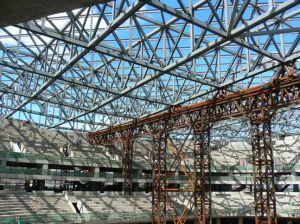 pre engineering steel structure building