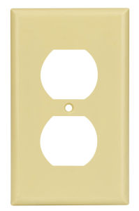 1-Gang Duplex Device Receptacle Wallplate, UL Listing pictures & photos