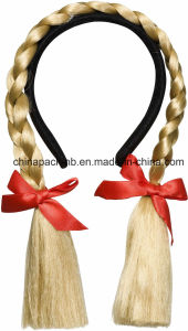 Fancy Dress Bendable Plaits on a Headband (CPPH_021) pictures & photos