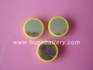 Hot-Sale 3.6V rechargeable Li-ion Button Cell Battery (LIR2450) pictures & photos
