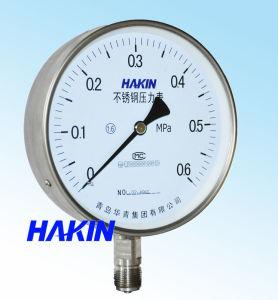 Stainless Steel Pressure Gauge Y-150H