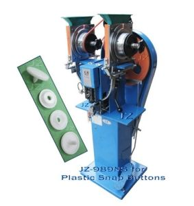 Automatic Snap Fastening Machine (JZ-989NS for Plastic Snap Buttons)