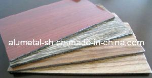 Wooden Finished Aluminum Cladding