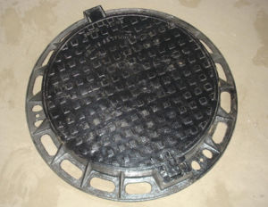 En124, D400 Ductile Iron Manhole Cover Frame with SGS Certificate pictures & photos