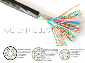 Professional Cat5/CAT6 Outdoor LAN Network Cable (WD1A-002) pictures & photos