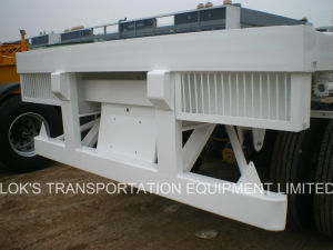 Triple Axle Flatbed Semi Trailer pictures & photos