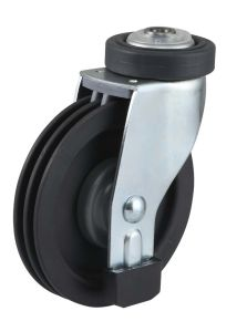 Shopping Trolley PU Caster pictures & photos