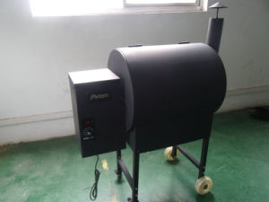 Wood Pellet BBQ Grill (SHJ-KL07E) pictures & photos
