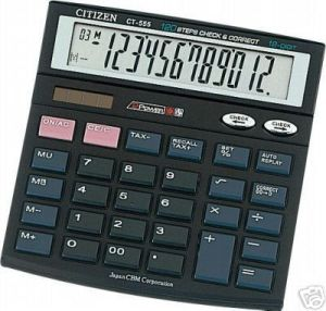 12 Digit Desktop Calculator CT-555