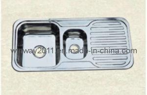 Kitchen Stainless Steel Sink (WH-80048)