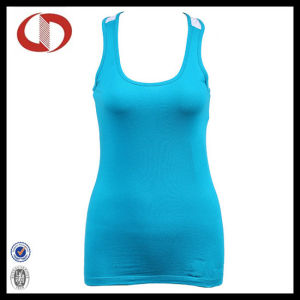 Women Two Colors New Style Sportswear Clothes Fitness Tank Tops pictures & photos
