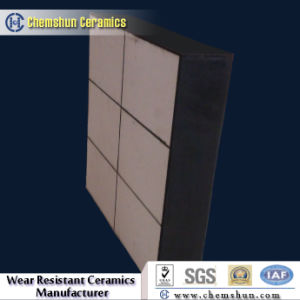 Composite Rubber Backed Ceramic Wear Tile Liner pictures & photos