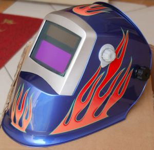 Auto-Darkening Welding Helmet 1/25, 000s Weld Mask 128# (S8008) pictures & photos