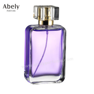 OEM/OEM Customized Glass Perfume Bottle with Cap and Sprayer pictures & photos