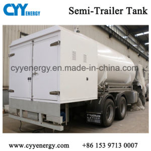 10m3 Effective Capacity LNG Cryogenic Semi-Trailer Transportation Tank pictures & photos