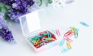 Custom Color Plastic Paper Clip for Office and School Supplies pictures & photos