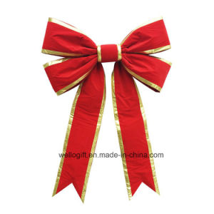 Handmade High Quality Holiday Christmas Giant Bow pictures & photos